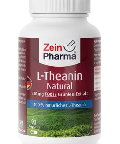 L-Theanin Natural, 500mg – 90 caps Amino Acids and BCAAs UKTSG bodybuilding supplements
