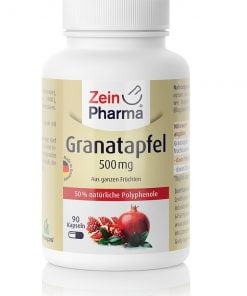 Pomegranate, 500mg – 90 caps Health and Wellbeing UKTSG bodybuilding supplements