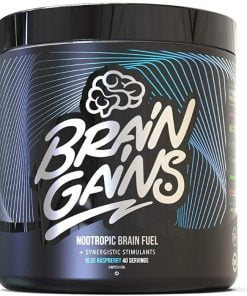 Nootropic Brain Fuel Switch-On Black Edition, Blue Raspberry – 300 grams Health and Wellbeing UKTSG bodybuilding supplements