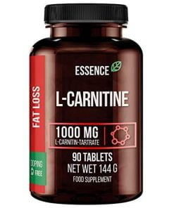 L-Carnitine, 1000mg – 90 tablets Amino Acids and BCAAs UKTSG bodybuilding supplements