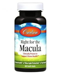 Right for the Macula – 60 softgels Omegas, EFAs, CLA, Oils UKTSG bodybuilding supplements