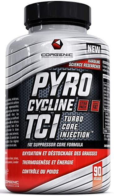 Pyrocycline TCI – 90 caps Slimming and Weight Management UKTSG bodybuilding supplements