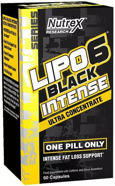 Lipo-6 Black Intense Ultra Concentrate – 60 caps all products on buy tester UKTSG bodybuilding supplements