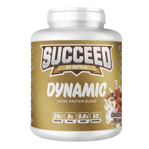 Succeed Dynamic, Chocolate Delight – 2000 grams Protein UKTSG bodybuilding supplements