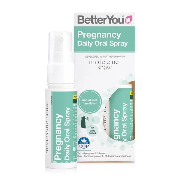 Pregnancy Daily Oral Spray, Natural Peppermint – 25 ml. Special Formula UKTSG bodybuilding supplements