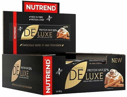 Deluxe Protein Bar, Chocolate Sacher – 12 bars all products on buy tester UKTSG bodybuilding supplements