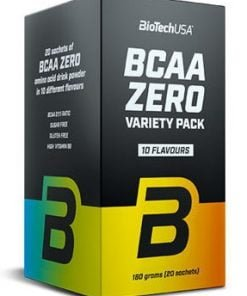 BCAA Zero, Variety Pack (10 flavours) – 20 sachets x 9g all products on buy tester UKTSG bodybuilding supplements