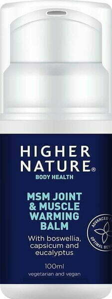 MSM Joint & Muscle Warming Balm – 100 ml. all products on buy tester UKTSG bodybuilding supplements