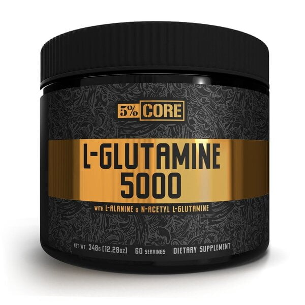 L-Glutamine 5000 – Core Series, Unflavoured – 348 grams all products on buy tester UKTSG bodybuilding supplements