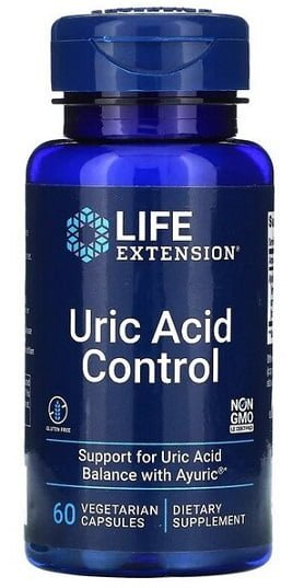 Uric Acid Control – 60 vcaps (EAN 737870192169) all products on buy tester UKTSG bodybuilding supplements