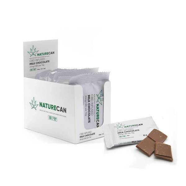 CBD Infused Milk Chocolate – 10 x 10g all products on buy tester UKTSG bodybuilding supplements