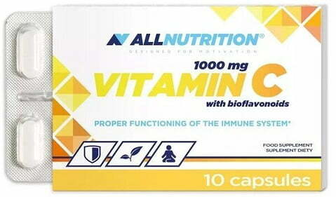Vitamin C with Bioflavonoids, 1000mg – 10 caps all products on buy tester UKTSG bodybuilding supplements
