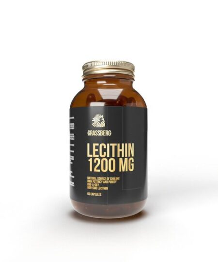 Lecithin, 1200mg – 60 caps all products on buy tester UKTSG bodybuilding supplements