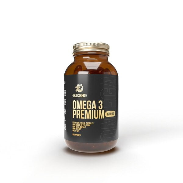 Omega 3 Premium, 1200mg – 90 caps all products on buy tester UKTSG bodybuilding supplements