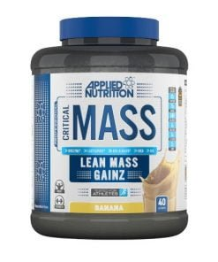 Critical Mass – Professional, Banana – 2400 grams all products on buy tester UKTSG bodybuilding supplements