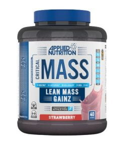Critical Mass – Professional, Strawberry – 2400 grams all products on buy tester UKTSG bodybuilding supplements