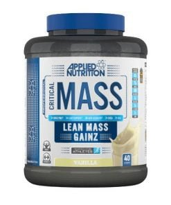 Critical Mass – Professional, Vanilla – 2400 grams all products on buy tester UKTSG bodybuilding supplements