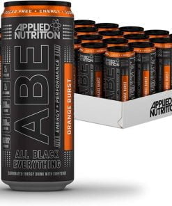ABE Energy + Performance Cans, Orange Burst – 24 x 330 ml. all products on buy tester UKTSG bodybuilding supplements