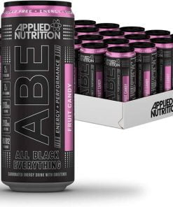 ABE Energy + Performance Cans, Fruit Candy – 24 x 330 ml. all products on buy tester UKTSG bodybuilding supplements