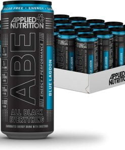 ABE Energy + Performance Cans, Blue Lagoon – 24 x 330 ml. all products on buy tester UKTSG bodybuilding supplements
