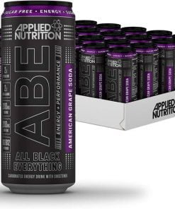 ABE Energy + Performance Cans, American Grape Soda – 24 x 330 ml. all products on buy tester UKTSG bodybuilding supplements