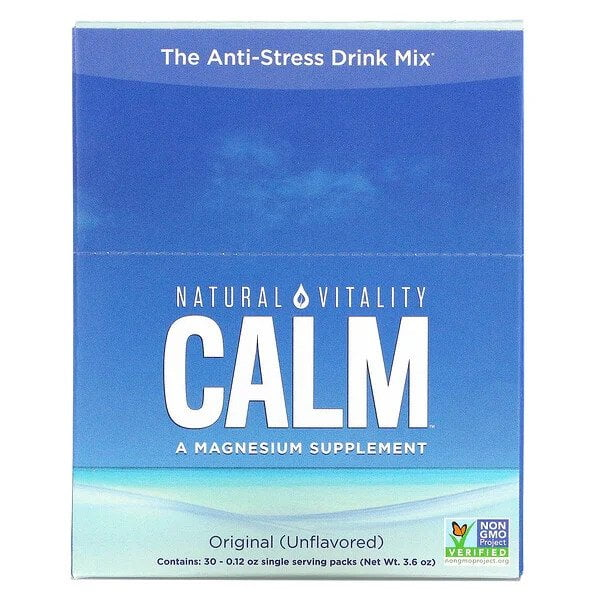 Natural Calm Packs, Unflavored – 30 x 3.3g Health and Wellbeing UKTSG bodybuilding supplements