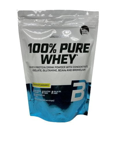 100% Pure Whey, Banana (EAN 5999076238385) – 454 grams all products on buy tester UKTSG bodybuilding supplements
