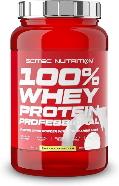 100% Whey Protein Professional, Banana (EAN 5999100021730) – 920 grams all products on buy tester UKTSG bodybuilding supplements