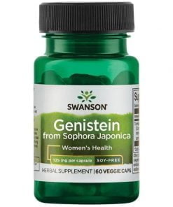 Genistein from Sophora Japonica, 125mg – 60 vcaps all products on buy tester UKTSG bodybuilding supplements