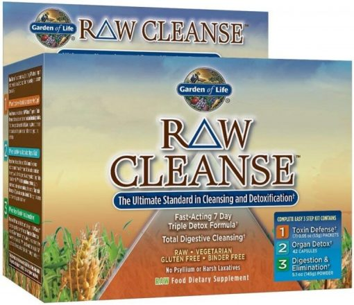 RAW Cleanse – 1 kit all products on buy tester UKTSG bodybuilding supplements